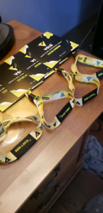 3 VIP Veld Wistbands, 2 days