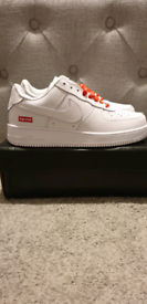 Nike Air Force 1 x Supreme. UK 8.5