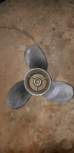 Mercury quicksilver stainless propeller
