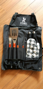 BBQ TOOL SET WITH APRON