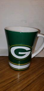 Retro Green Bay packers Coffee/Tea Cup Mug