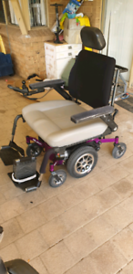 2016 Centro Electric Wheelchair with backrest and chair tilt