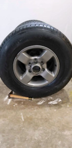 4 winter tires and rims 245/75r16
