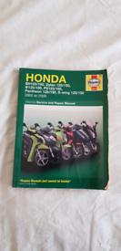 Honda Dylan 125 manuel