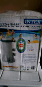 Intex Krystal Clear Cartridge Filter Pump for Above Ground Pools