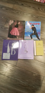 Textbooks used at Humber College for Fashion Arts Program