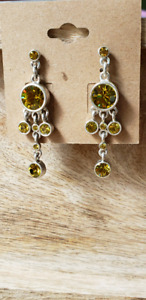 Brand new Sparkle Earrings with Swarovski Crystals