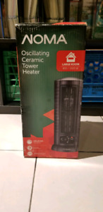 NEW NOMA Oscillating Ceramic Tower Heater