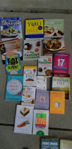 Diet/Nutrition& cook books