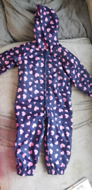 Girls 1½-2 years puddle suit coat