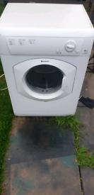 indesit wented dryer