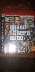 gta 4 for ps3. $15