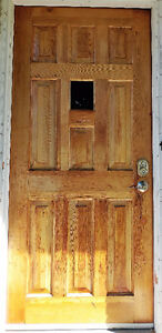 Solid Wood Entry Door & 3 Vinyl Thermopane Windows - OFFERS?
