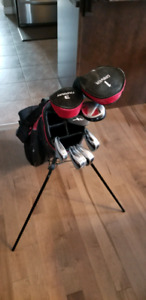 LH golf clubs and bag