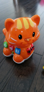Vtech Learning kitty ,Johnny Jungle plane and Leap frog horse