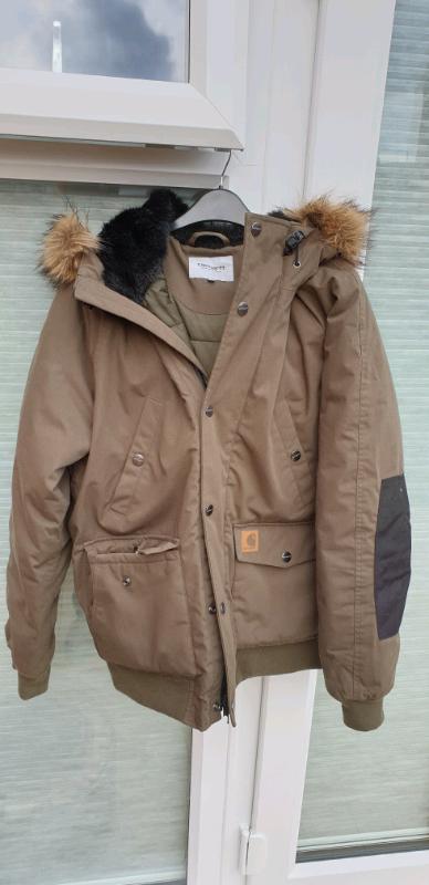 b84ad4035 Mens Large Carhartt Trapper Parka Jacket Coat Green Black Hood | in  Southam, Warwickshire | Gumtree