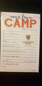 Camp Notes - News from Camp stationery set (30 sheets/10 env)