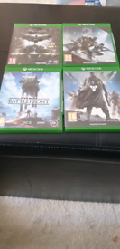 4x Game Bundle for XBOX ONE