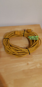 78 FOOT 16 GUAGE 3 WIRE OUTDOOR EXTENSION CORD