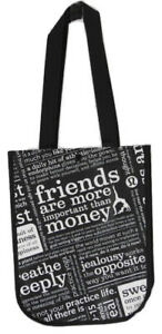 Lululemon small tote bag