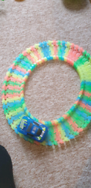 Glow in the dark car and track
