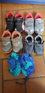 Infant/toddler boys slippers and sneakers