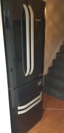 HOTPOINTamerican style Fridge Freezer - Black
