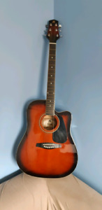 Handmade limited edition mirage acoustic/ electric guitar.
