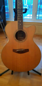 guitare electro acoustic yamaha cpx 500 nt