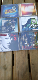 ,CDs Selection of 6 rock cds