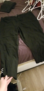 Size 22 dress pants with rhinestones at bottom