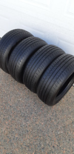 215/55/16 HANKOOK KINERGY ALL SAESON TIRES-VERY GOOD CONDITION