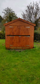 Large Apex Shed 12 x 8