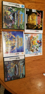 Pokemon and Zelda 3DS and DS games