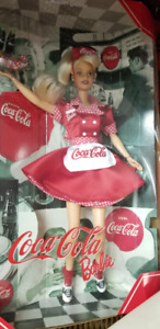 Coca Cola Barbie Doll Collectibles and more