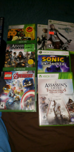 Xbox one and 360 games