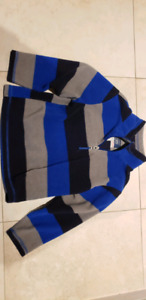 boys fleece tops with zipper (will post pic)
