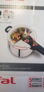 T - fal stainless steel pressure cooker