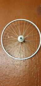 700c Road bike rear wheel c/w 13/26 groupset