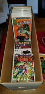 Comic books, Lot de bd. Marvel, DC