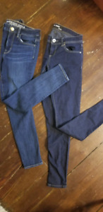 American eagle (size 2) + The jegging BONGO(size 3) $15 for BOTH