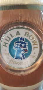 Jim Beam Hula Bowl 1946-1975 Hawaii Decanter.