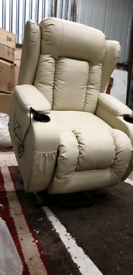 Cream Mobility Riser&Recliner Armchairs New free local delivery