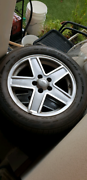 Jeep Patriot original wheels 17 inch with tyres Westminster Stirling Area Preview