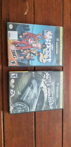 NEED FOR SPEED MOST WANTED ET STREETS 2 NINTENDO GAMECUBE