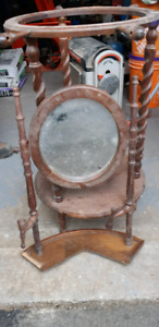 Old Wash Stand with Mirror