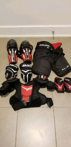 Set de hockey enfant (gr. M/M, 5-7 ans) Bauer Legacy Junior
