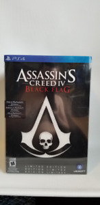 Assassin's Creed IV black flag figurine ps4