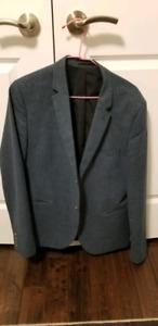 Topman suit jackets men size 42 slim like new