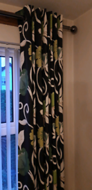 Beautiful NEXT Floral Curtains ..... 135cm x 229cm....As New!